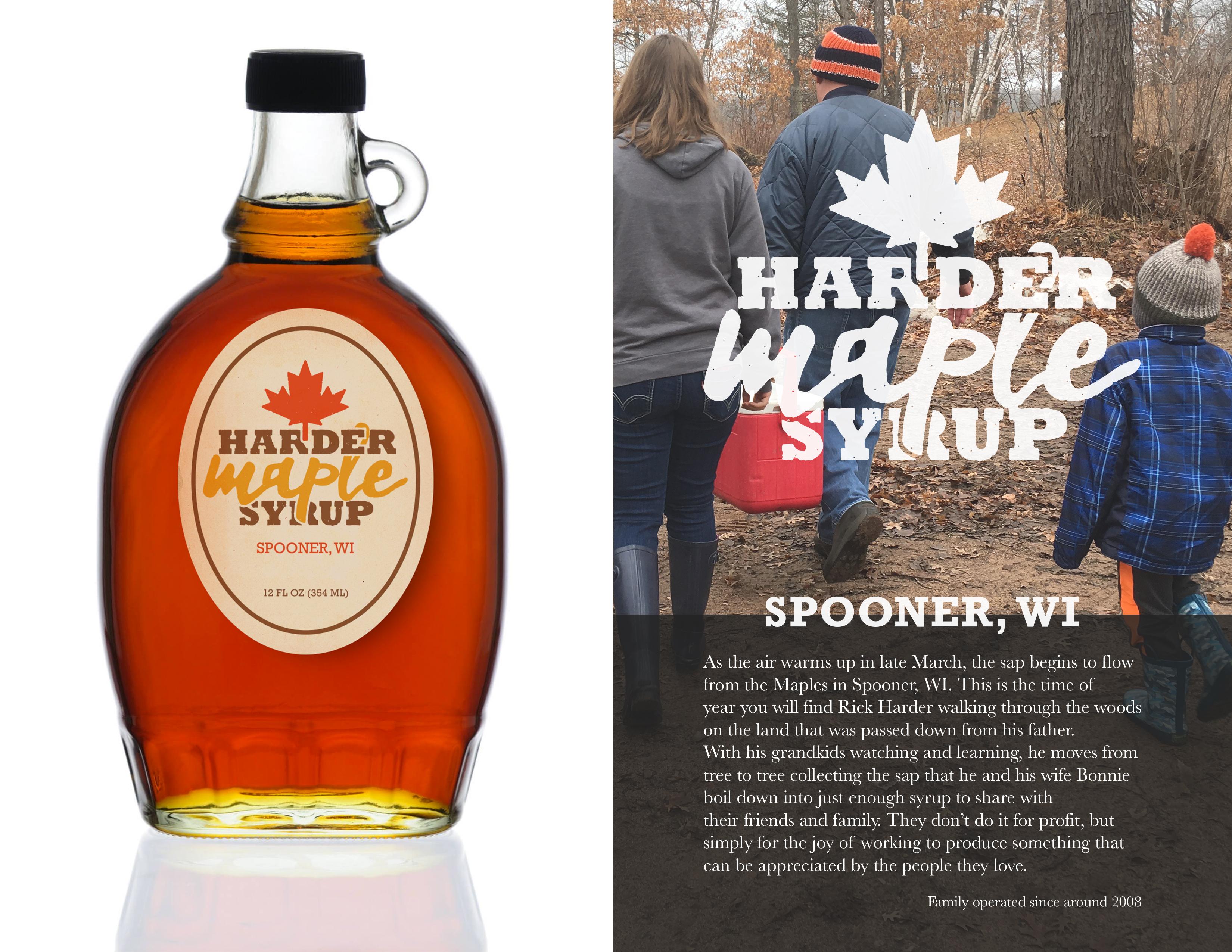 Harder Maple Syrup